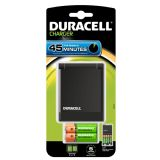 Duracell 45 minute Battery Charger with 2AA & 2AAA Rechargeable Batteries